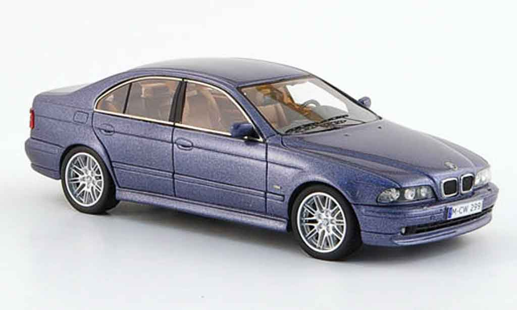 Bmw 520 1/43 Neo i (E39) bleu edition liavecee 300 2002 miniature