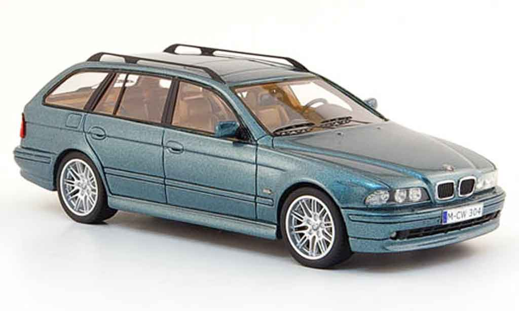 Bmw 520 1/43 Neo i (E39) Touring grun liavec. Auflage 300 1998 diecast model cars