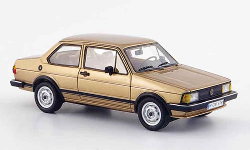 Volkswagen Jetta 1/43 Neo i beige 2 portes liavec. auflage 300 1980 miniature