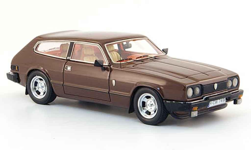 Reliant Sciavecar 1/43 Neo se 6 marron edition liavecee 300 1979 miniature