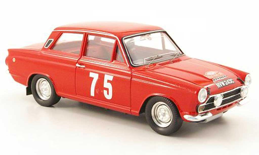 Ford Cortina 1/43 Trofeu MKI No.75 Clark/Melia Rally Monte Carlo 1966 miniature