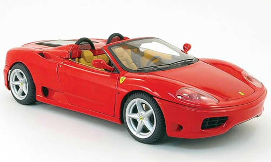 ferrari 360 modena spider rot hot wheels modellauto 1 18 kaufen verkauf modellauto online. Black Bedroom Furniture Sets. Home Design Ideas