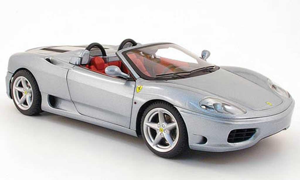 ferrari 360 modena spider grau hot wheels modellauto 1 18 kaufen verkauf modellauto online. Black Bedroom Furniture Sets. Home Design Ideas