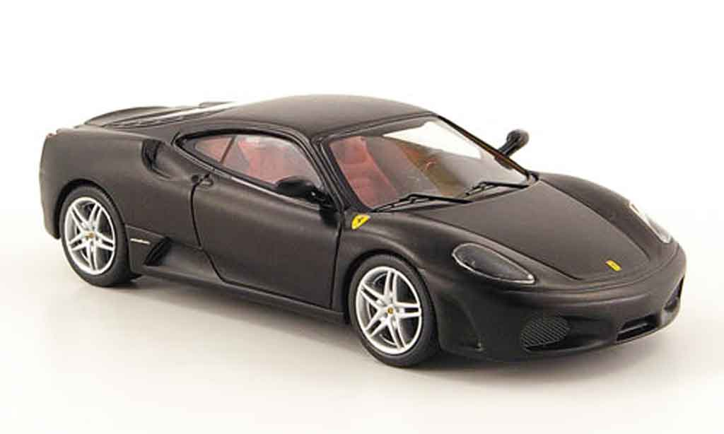 ferrari f430 matt schwarz hot wheels elite modellauto 1 43 kaufen verkauf modellauto online. Black Bedroom Furniture Sets. Home Design Ideas