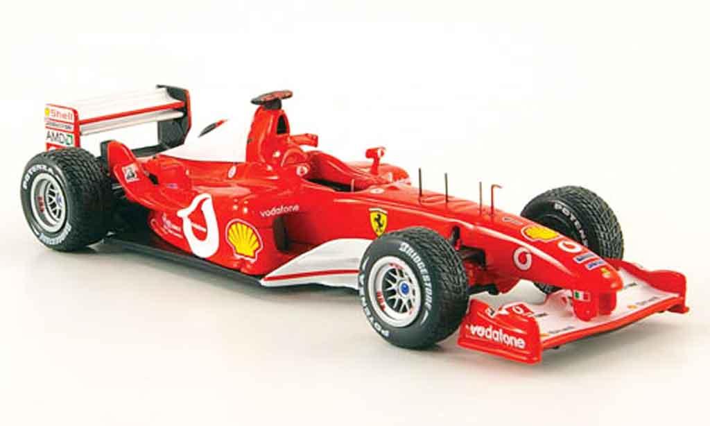 Ferrari F1 F2003 1/43 Hot Wheels Elite ga no.1 m.schumacher 2003 miniature