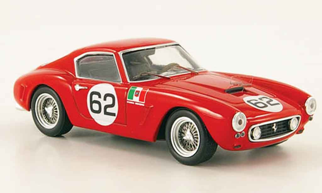 Ferrari 250 GT 1960 1/43 Hot Wheels Elite berlinetta swb no.62 coppa intereuropa miniatura