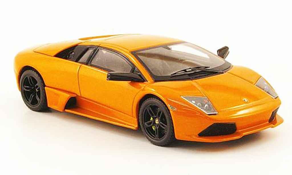 Lamborghini Murcielago LP640 1/43 Hot Wheels Elite orange miniature