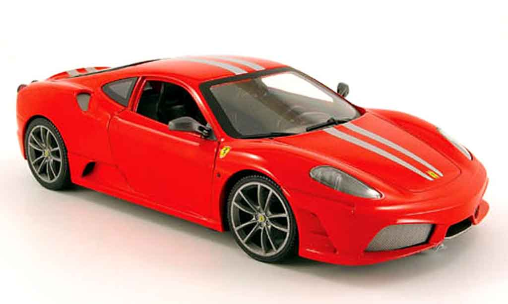Ferrari F430 Scuderia Red Hot Wheels Diecast Model Car 1