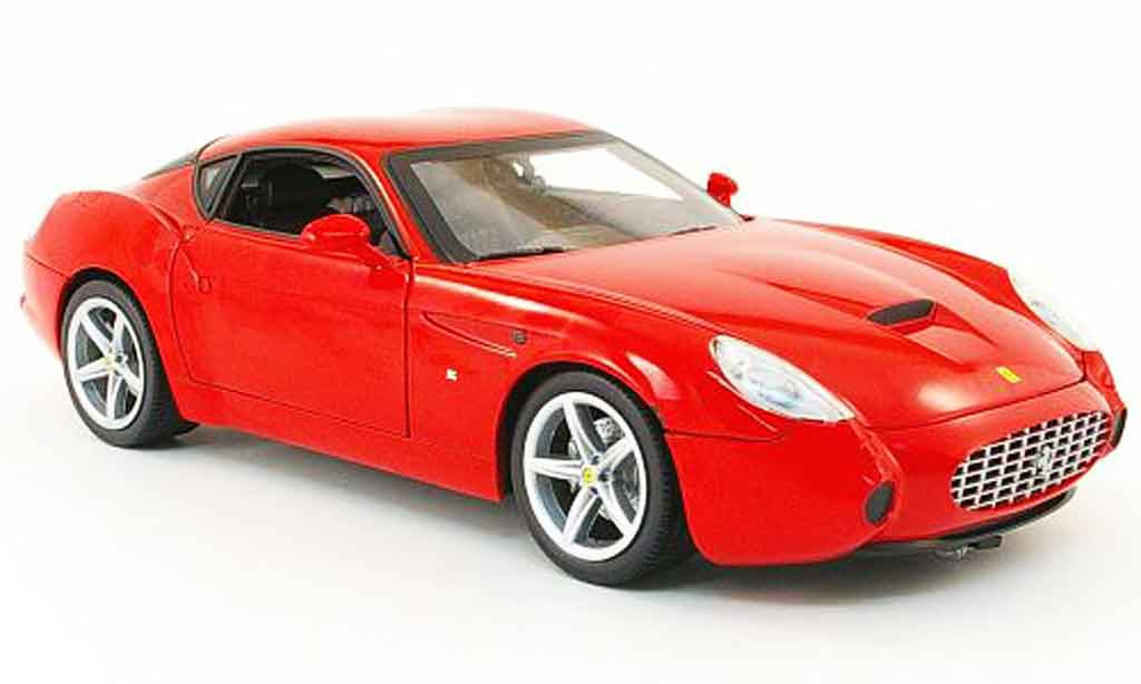 Ferrari 575 GTZ 1/18 Hot Wheels zagato rouge miniature