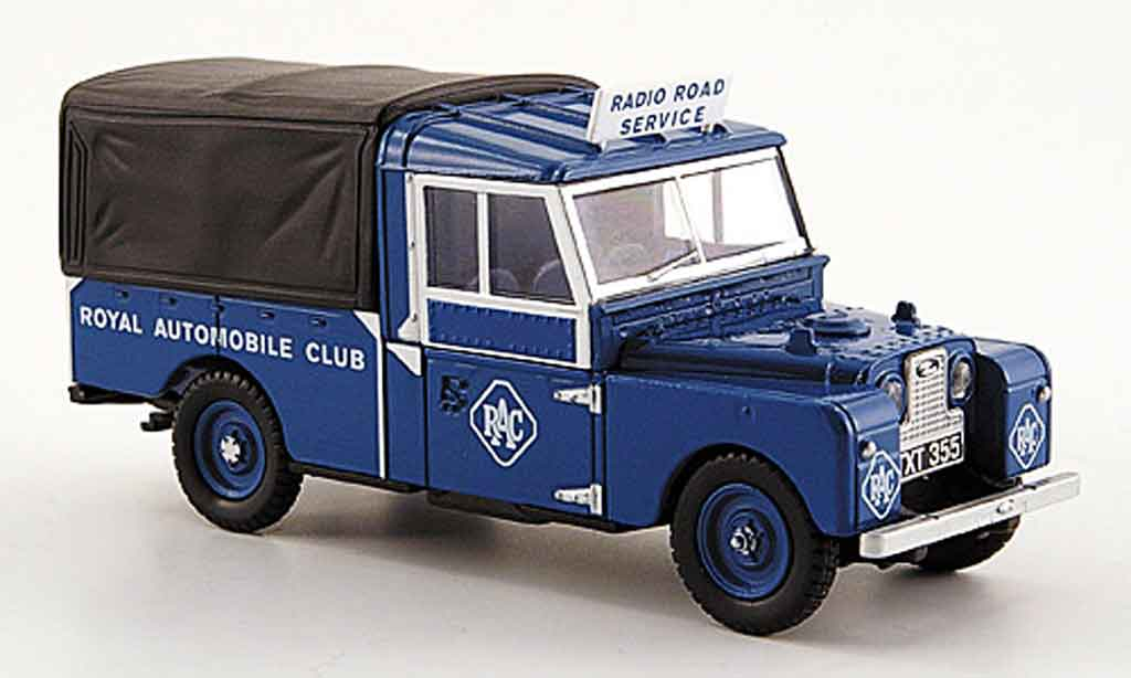 Land Rover 109 1/43 Oxford Pritsche Plane RAC miniature