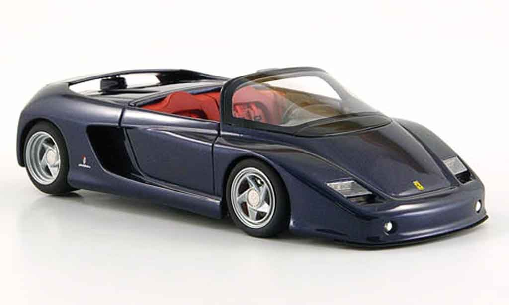 Ferrari Mythos 1/43 Look Smart spider bleu miniature