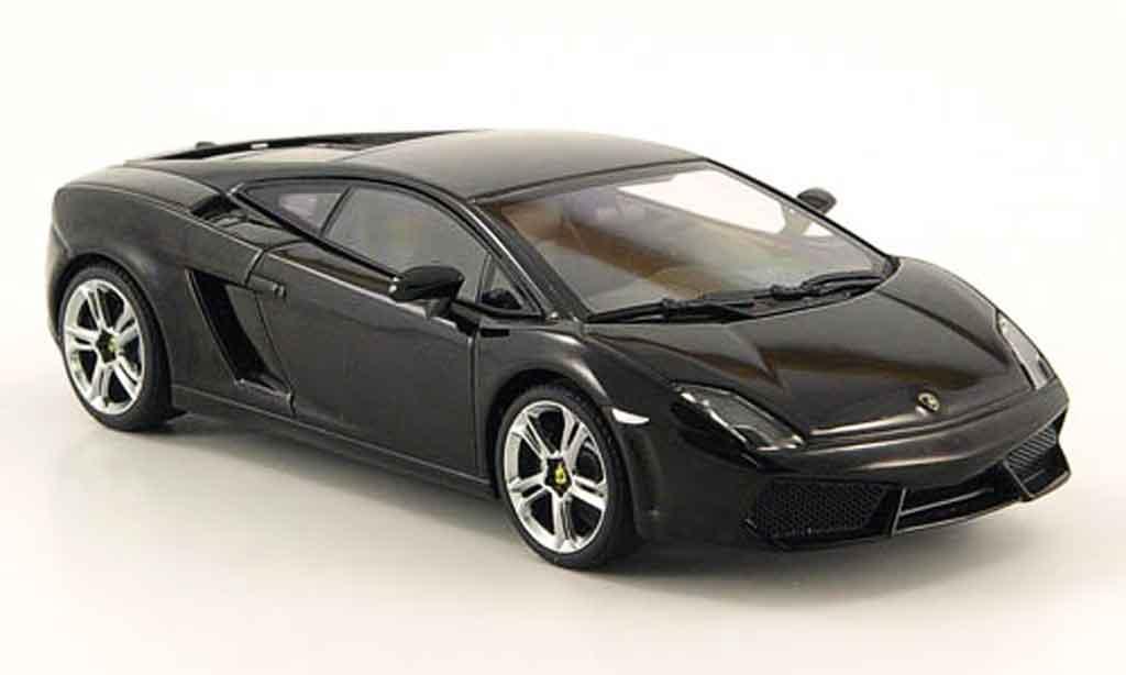 Lamborghini Gallardo LP560-4 LP560-4 1/43 Autoart noire miniature