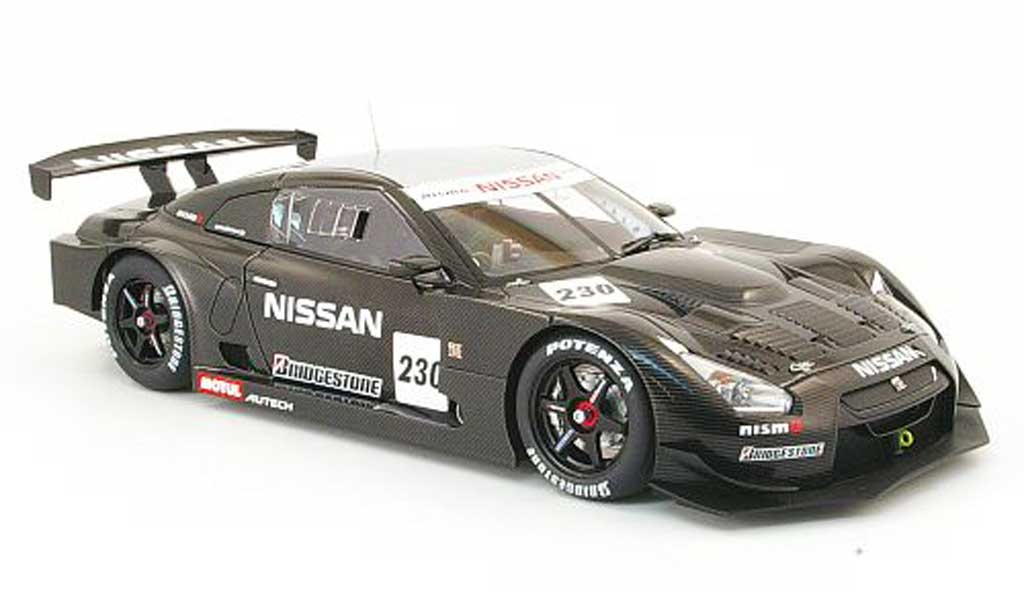 Nissan Skyline R35 1/18 Autoart JGTC gt-r no.230 test car super gt 2008 miniature