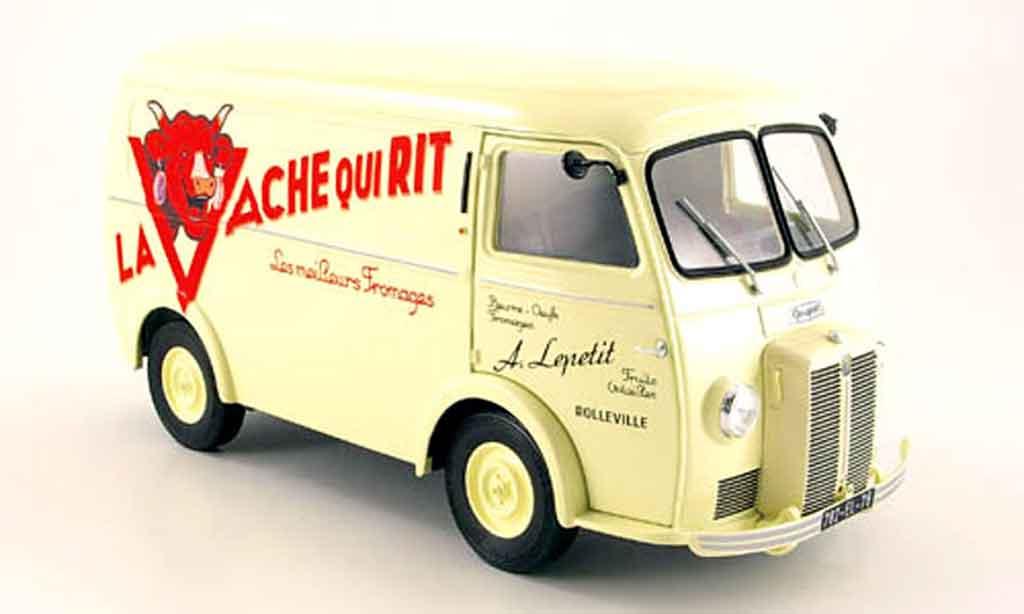 Peugeot D4A 1/18 Norev la vache qui rit 1956 miniature