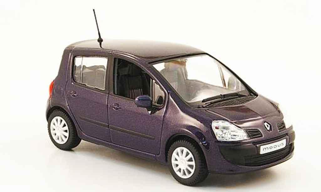 Renault Modus 1/43 Norev lila 2007 miniature
