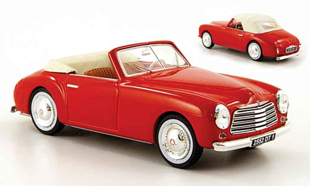 Simca Sport 1/43 Norev 8 red inklusive hard top 1949 diecast