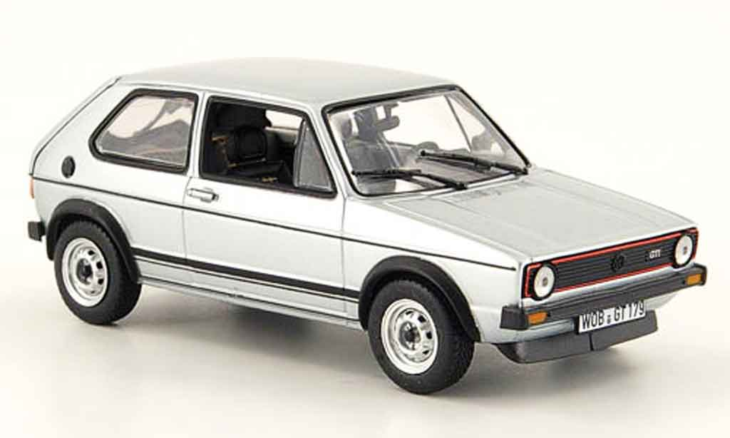 volkswagen golf 1 gti grau metallisch 1976 norev modellauto 1 43 kaufen verkauf modellauto. Black Bedroom Furniture Sets. Home Design Ideas