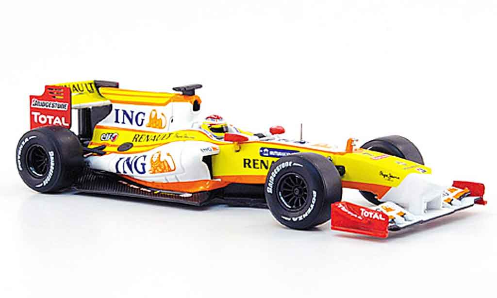 Renault F1 1/43 Norev r 29 no.7 ing f.alonso 2009 miniature