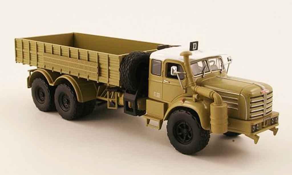 Berliet GBO 15 6x4 HC beige 1957 Norev. Berliet GBO 15 6x4 HC beige 1957 miniature 1%2F43