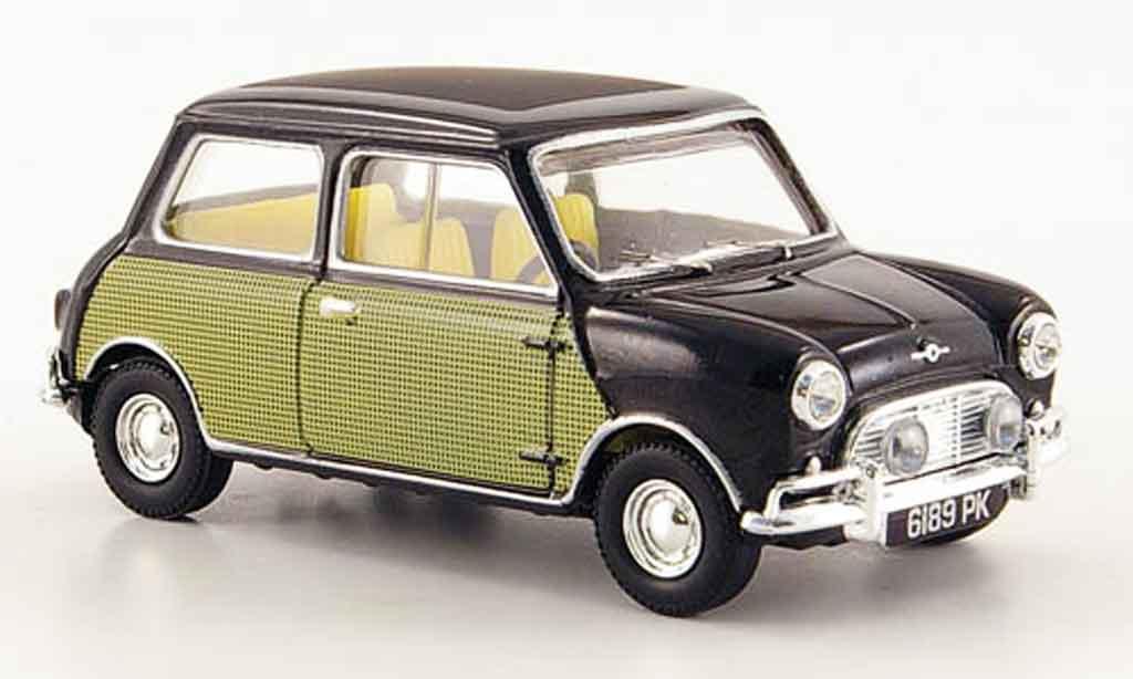 Austin Mini Cooper 1/43 Vanguards MK I noire avec Dekor Peter Sellers miniature