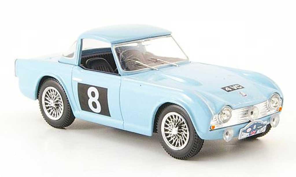 Triumph TR4 1962 1/43 Vanguards No.8 M.Sutcliffe / R.Fidler Alpenrally miniature