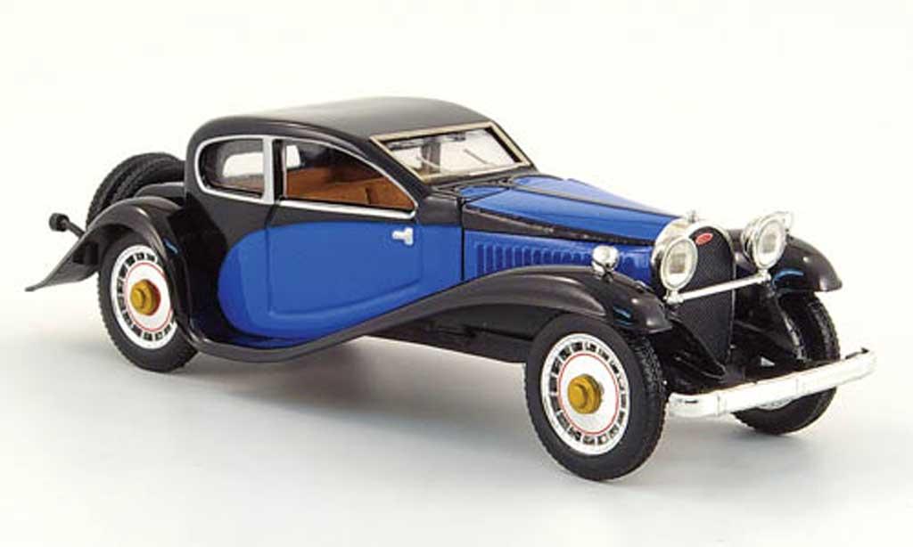 Bugatti 50 1/43 Rio noire/bleu 1933 miniature