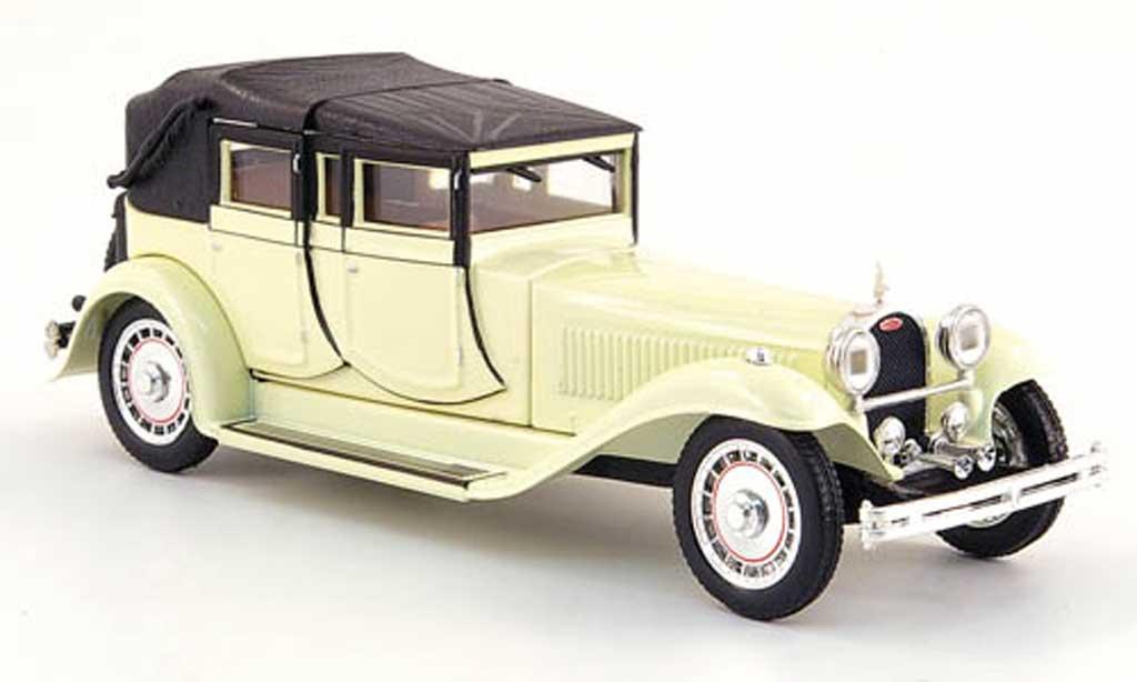 Bugatti 41 1/43 Rio Royale beige 1927 miniature