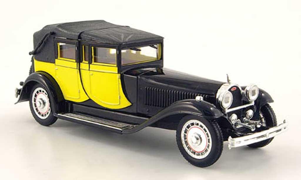Bugatti 41 1/43 Rio Royale jaune/noire 1927 miniature