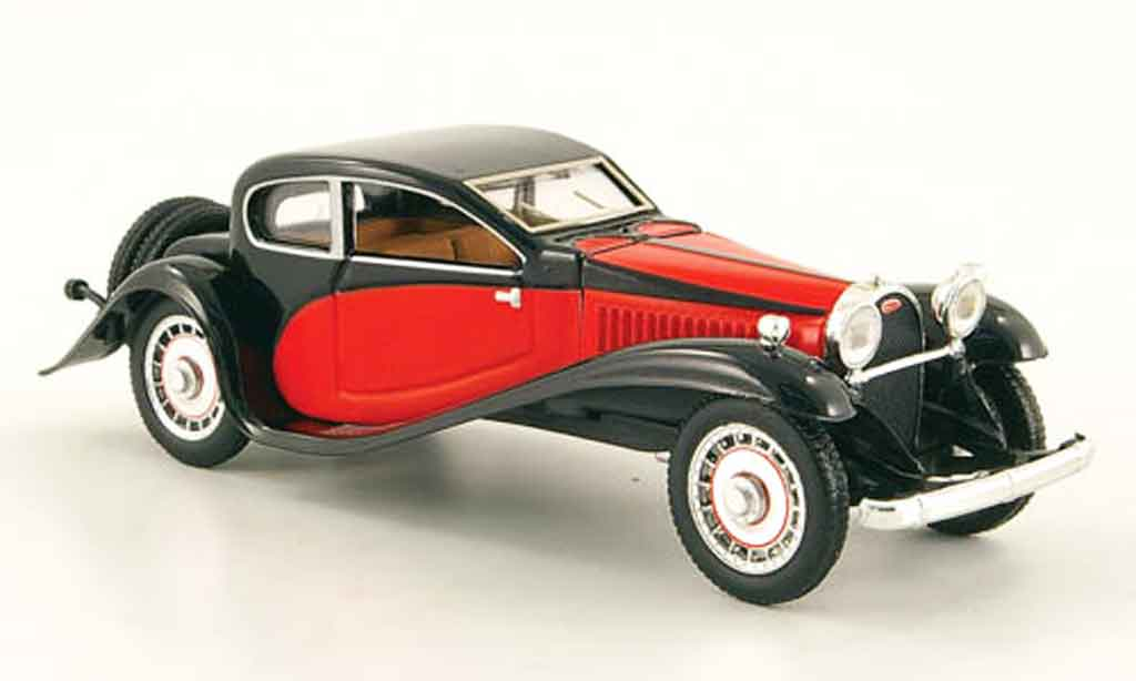 Bugatti 50 1/43 Rio rouge noire 1933 miniature