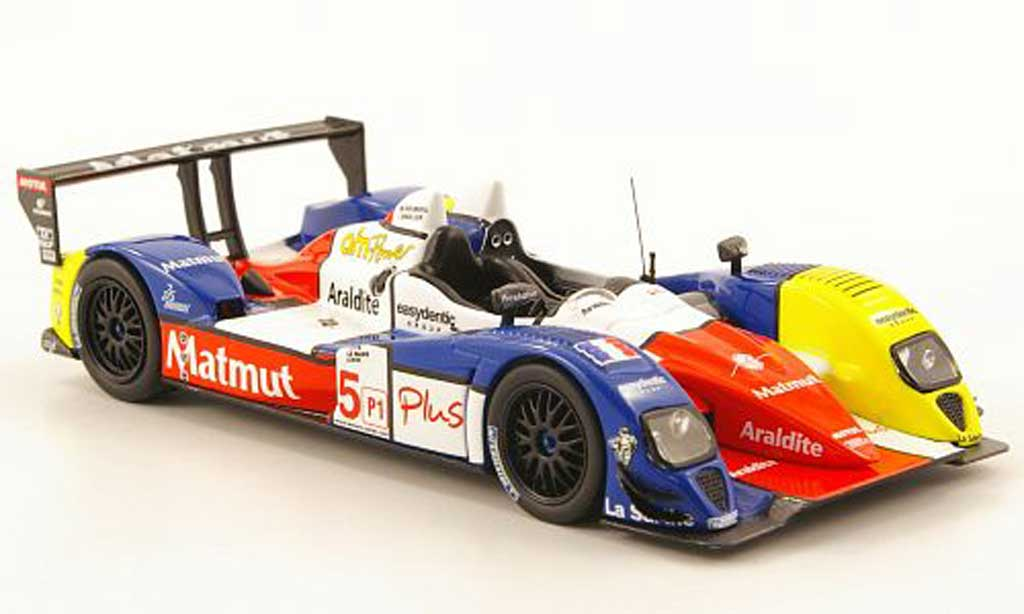 Courage 2008 Oreca 1/43 IXO Oreca Oreca LC70E-Judd No.5 Test Paul Ricard miniature