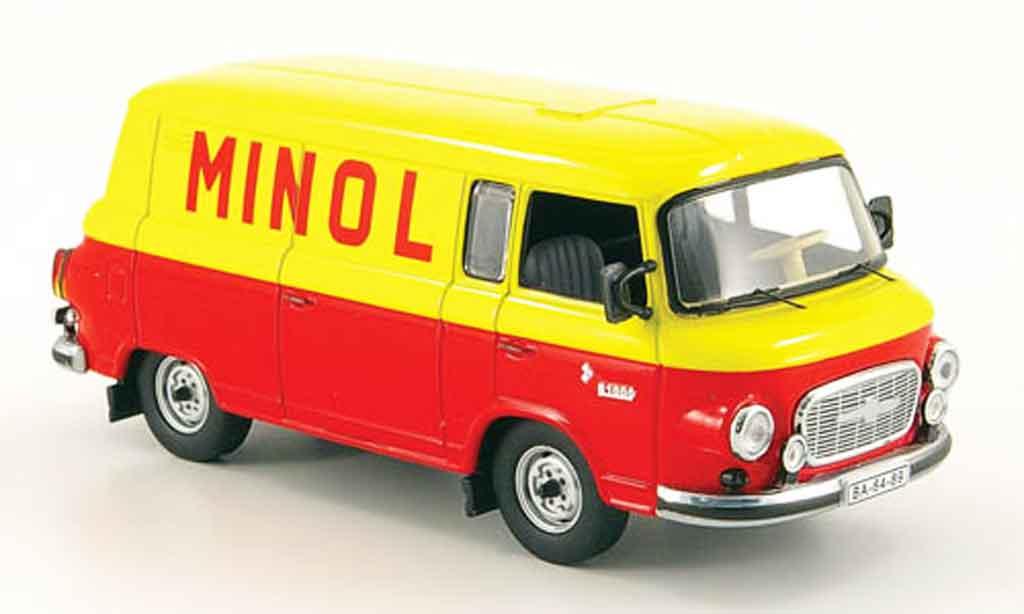 Barkas B 1000 1/43 IST Models Kastenwagen Minol 1960 miniature