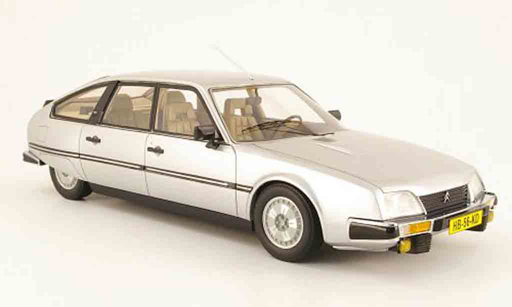 Citroen CX 1/18 Neo gti grise clair metallized 1982 miniature