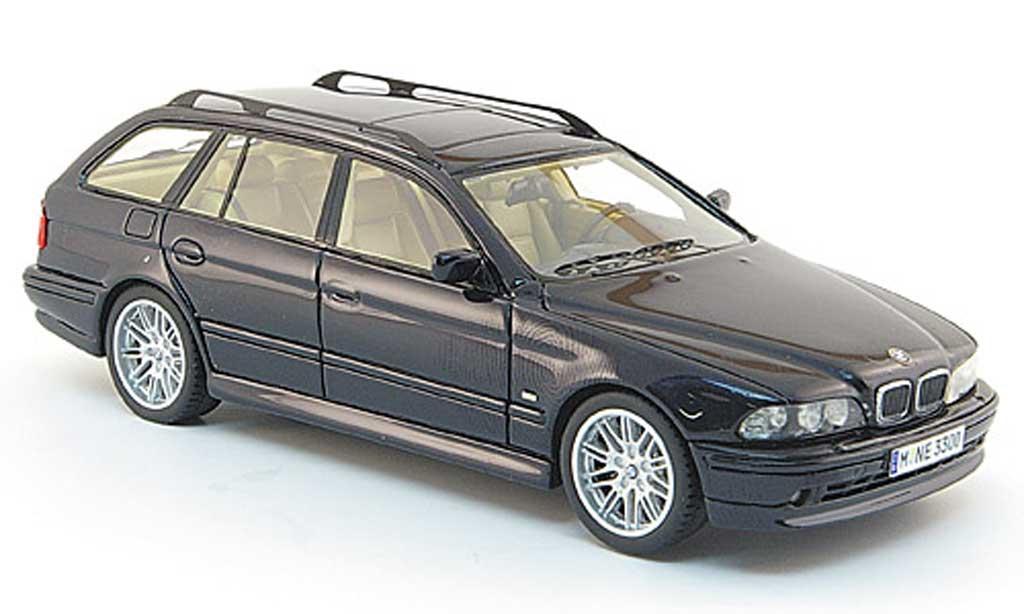 Bmw 520 1/43 Neo i Touring (E 39) black 2002 diecast model cars
