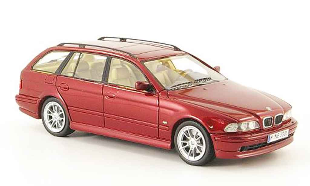 Bmw 520 1/43 Neo i Touring (E39) rouge 2002 miniature