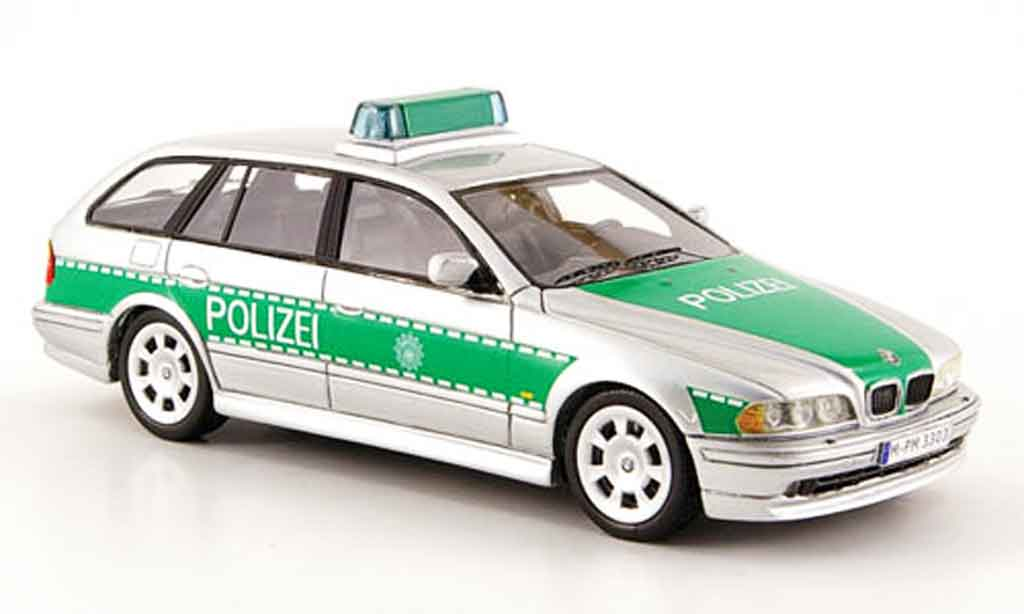 bmw 530 touring e39 police deutschland 2002 neo modellauto 1 43 kaufen verkauf modellauto. Black Bedroom Furniture Sets. Home Design Ideas