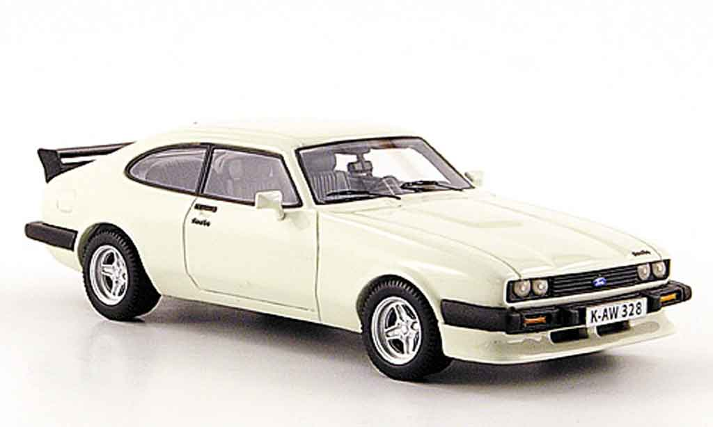 ford capri mk iii turbo weiss 1981 neo modellauto 1 43 kaufen verkauf modellauto online. Black Bedroom Furniture Sets. Home Design Ideas