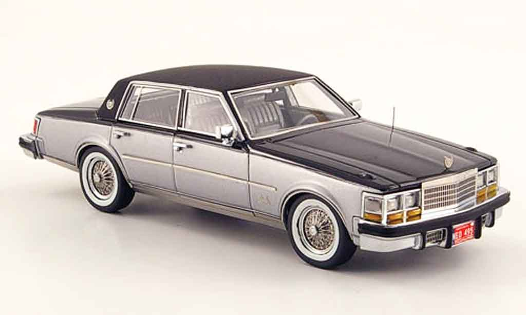 Cadillac Seville 1978 1/43 Neo MK I Elegante noire grise metallisee miniature