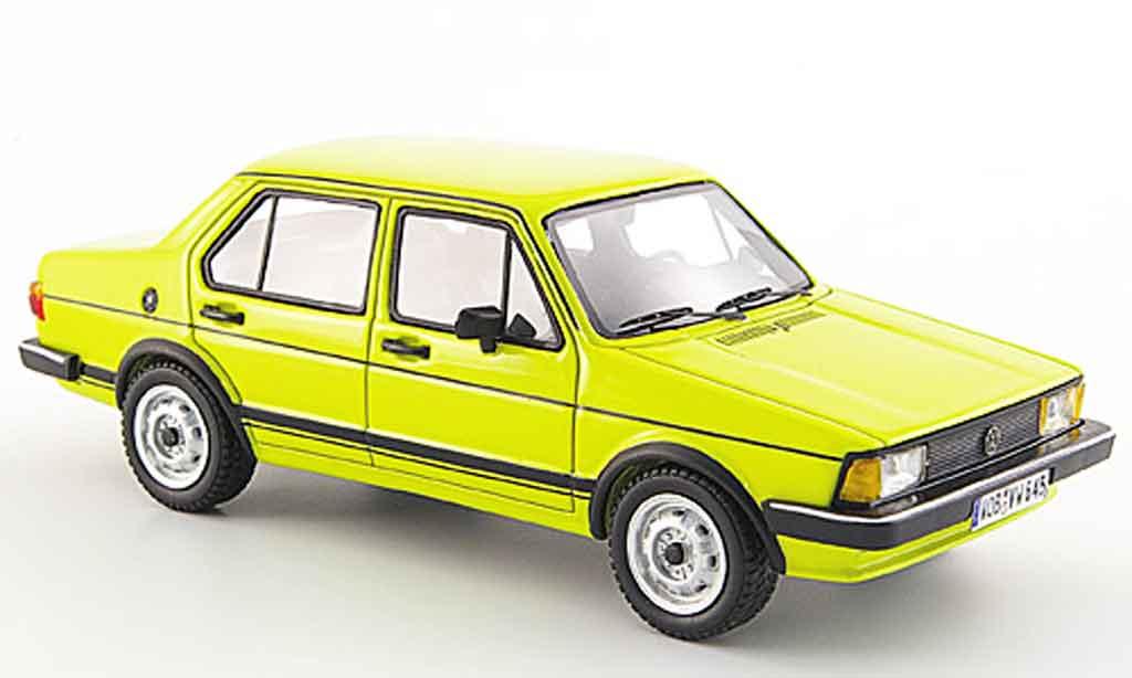 Volkswagen Jetta 1/43 Neo i jaune 4 portes 1980 miniature