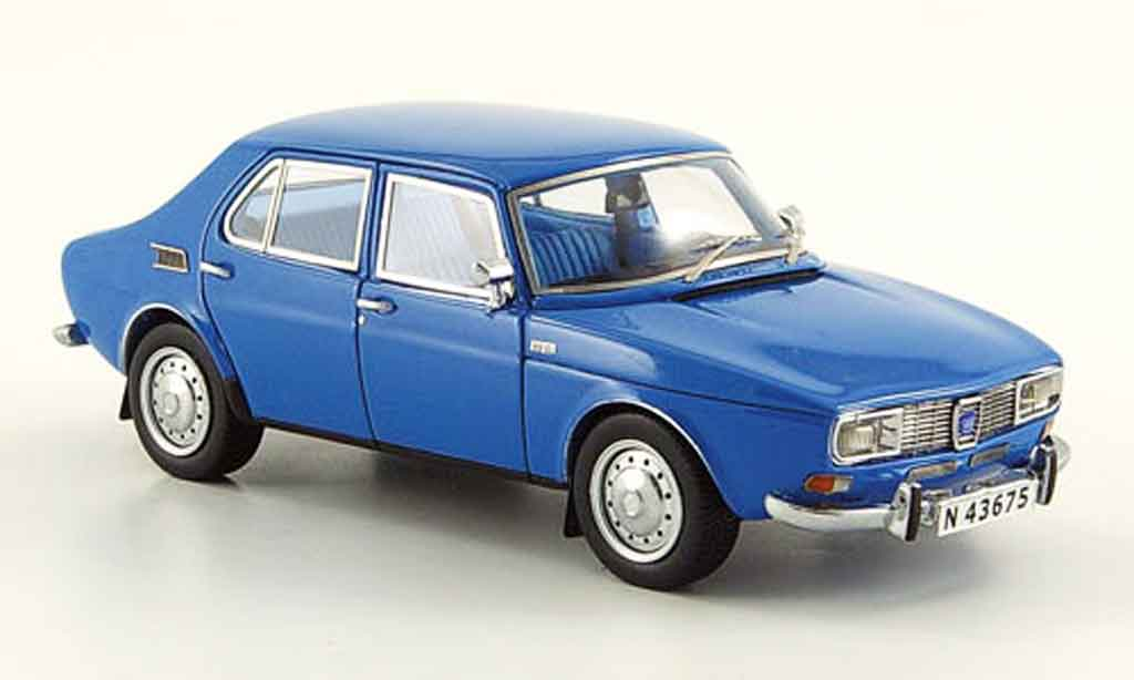 Saab 99 1/43 Neo bleu 4 turig 1981 miniature