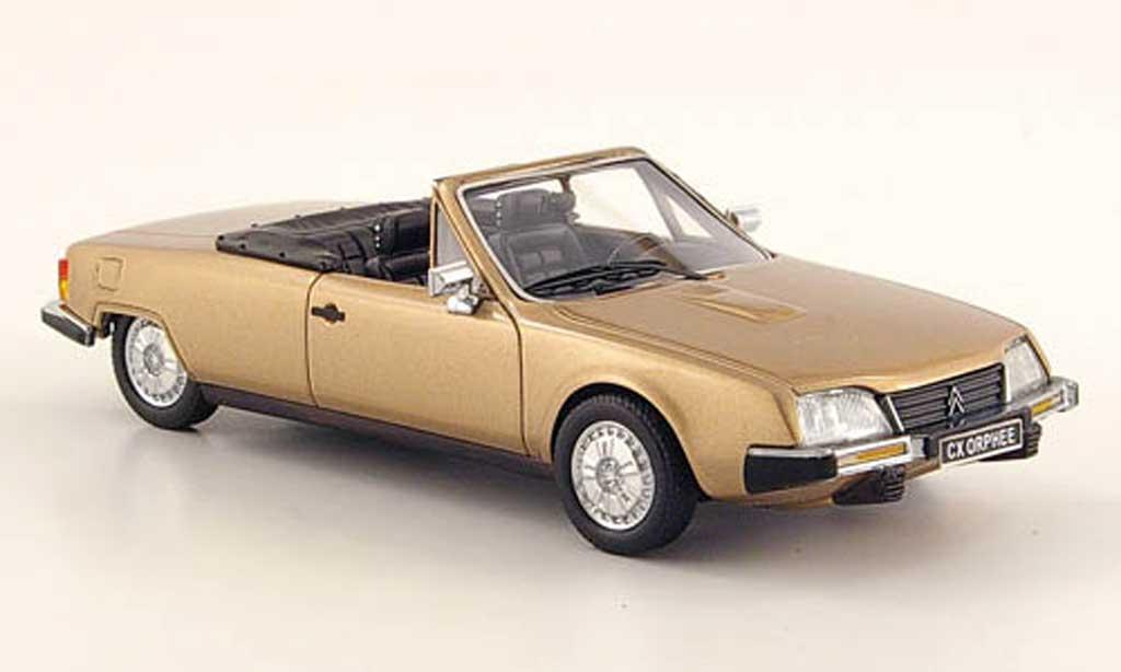 Citroen CX 1/43 Neo Orphee Cabriolet beige 1983 miniature