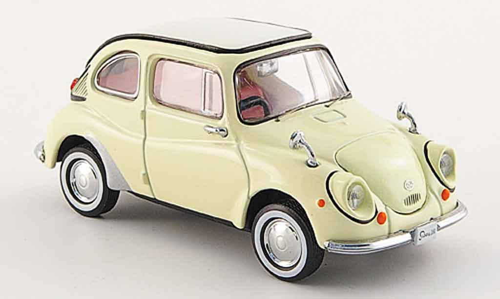 Subaru 360 1/43 Ebbro beige 1963 miniature