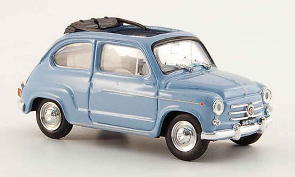 fiat 600 d offen blau 1960 brumm modellauto 1 43 kaufen verkauf modellauto online. Black Bedroom Furniture Sets. Home Design Ideas