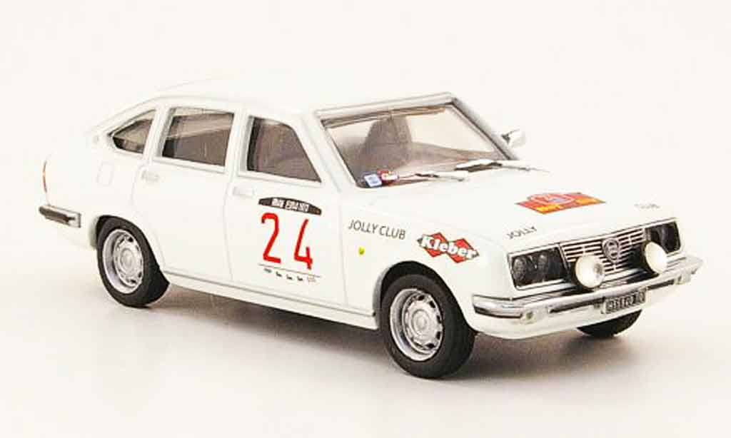 Lancia Beta 1/43 Pego 1800 lx no.24 rallye elba 1973 miniature