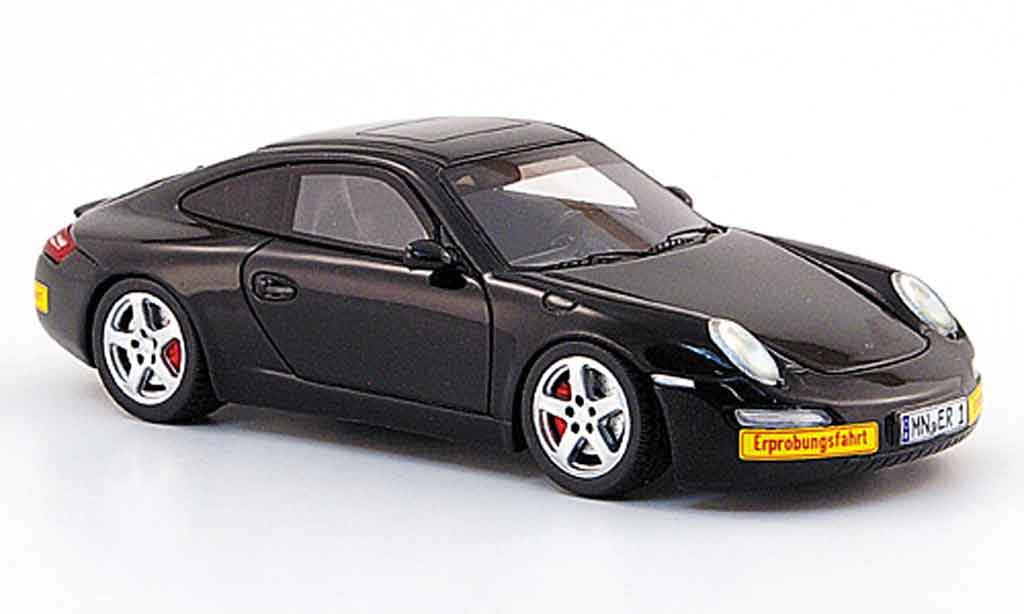 Porsche 997 RUF 1/43 Spark E  black 2008 diecast model cars