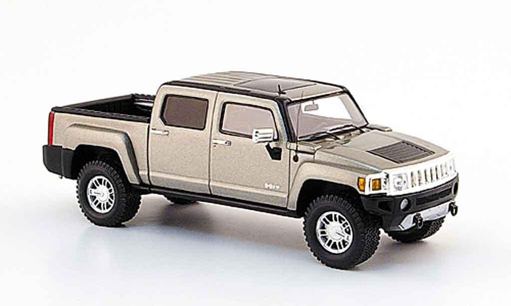 Hummer H3 1/43 Spark T beige 2008 miniature