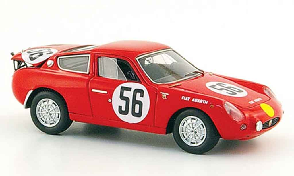 Fiat 700 1/43 Spark Abarth S No.56 Masson Zeccoli 24h Le Mans 1962 miniature