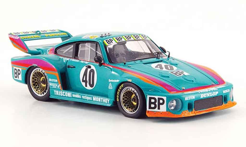 Porsche 935 1979 1/43 Spark No.40 BP Dritter Platz 24h Le Mans miniature