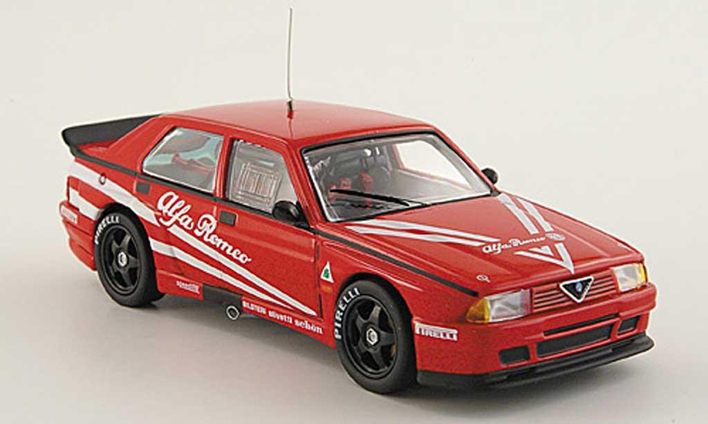 Alfa Romeo 75 Evoluzione 1/43 M4 Turbo Prova rouge 1988 miniature