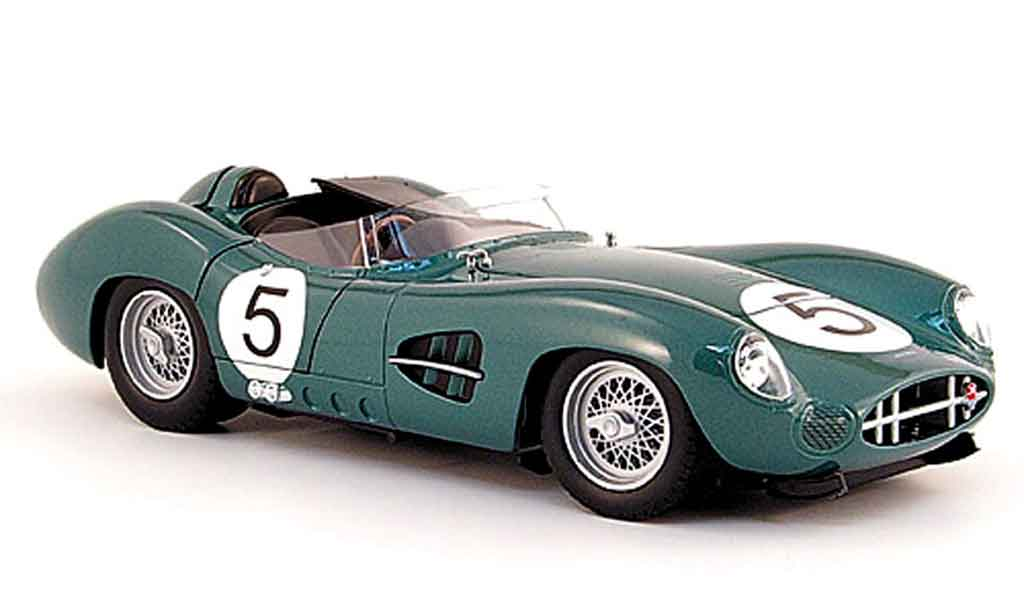Aston Martin DBR1 1/18 Shelby Collectibles no.5 c.shelby sieger 24h le mans 1959 miniature