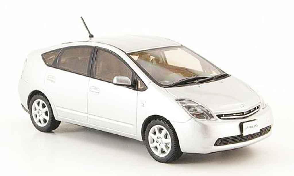Toyota Prius 1/43 Kyosho ii g grise metallisee touring selection miniature